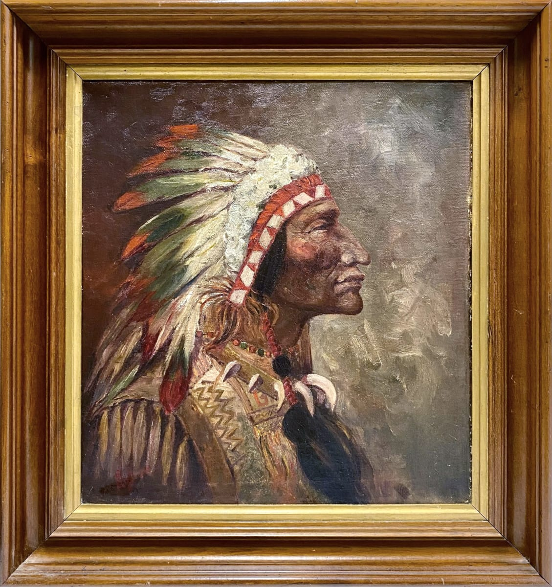 0322 - Aboriginal Chief (portrait)
