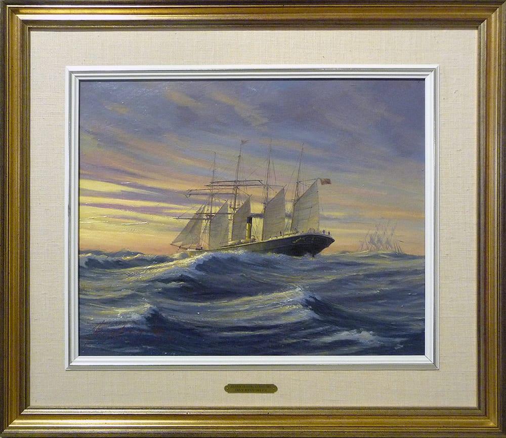 0914 - Atlantic Crossing SS Mayumba by John Horton (FCA, CSMA)