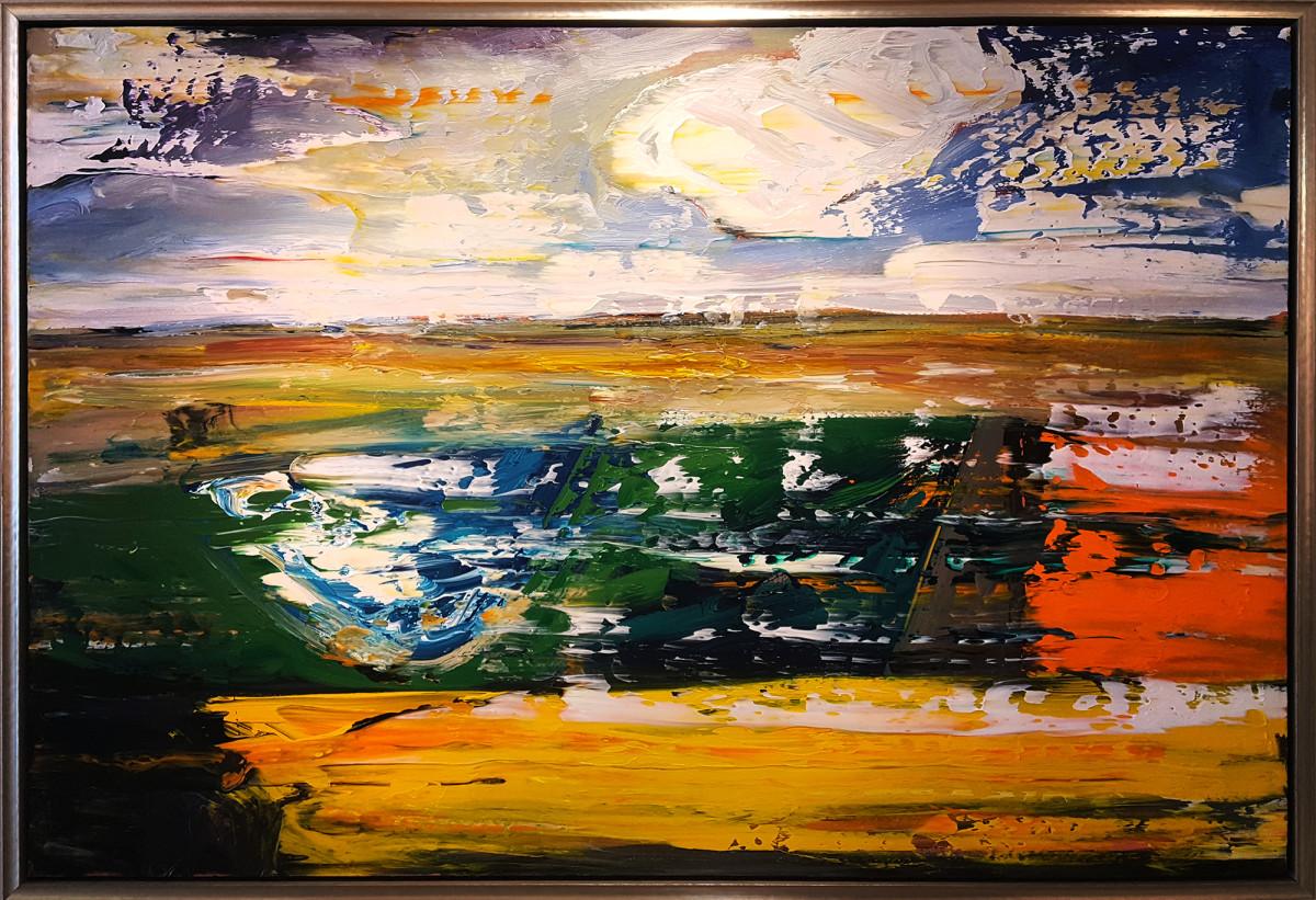 0483 - Pond in the Rough by Matt Petley-Jones