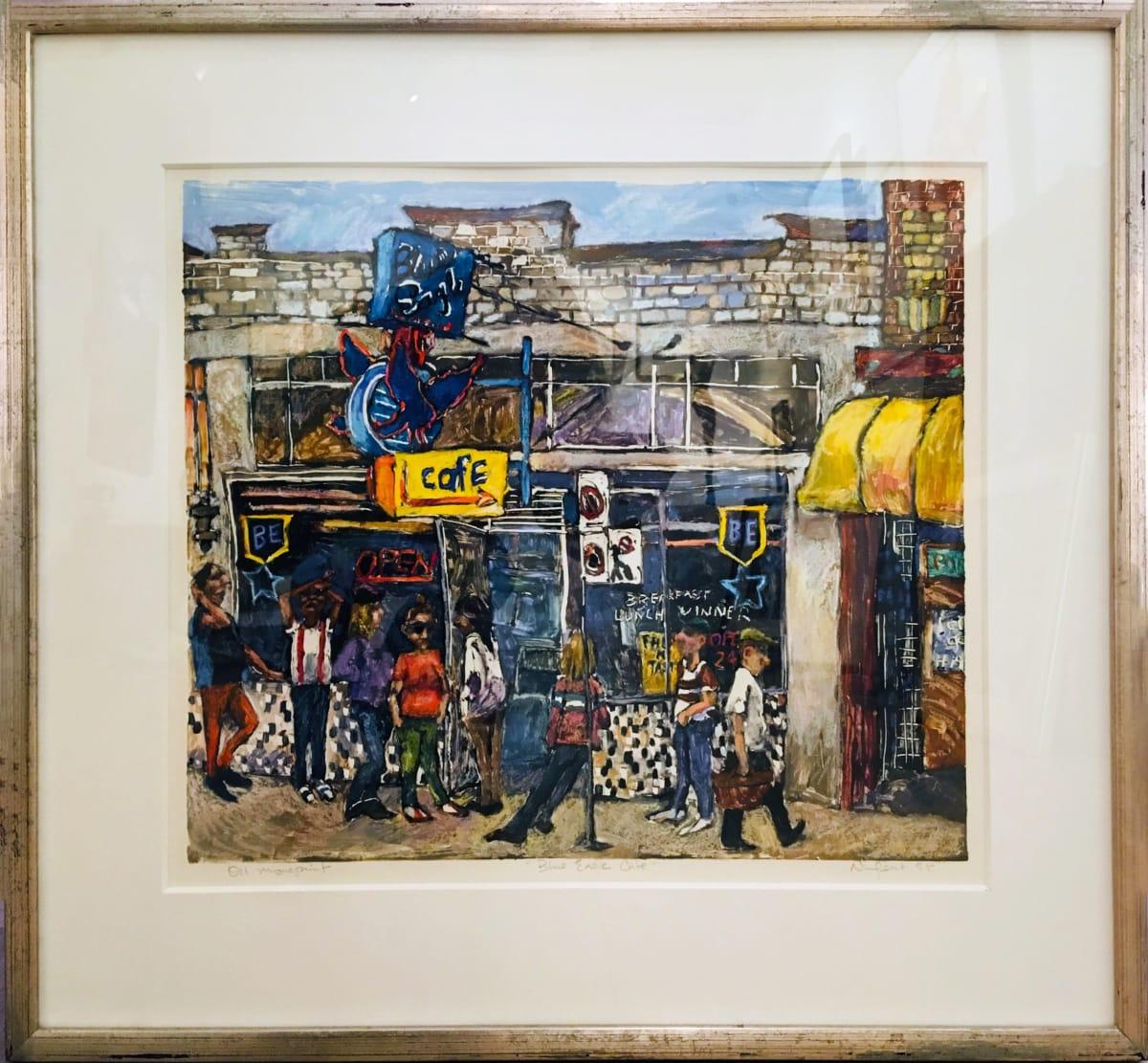 2296 - Blue Eagle Cafe by Cynthia Nugent