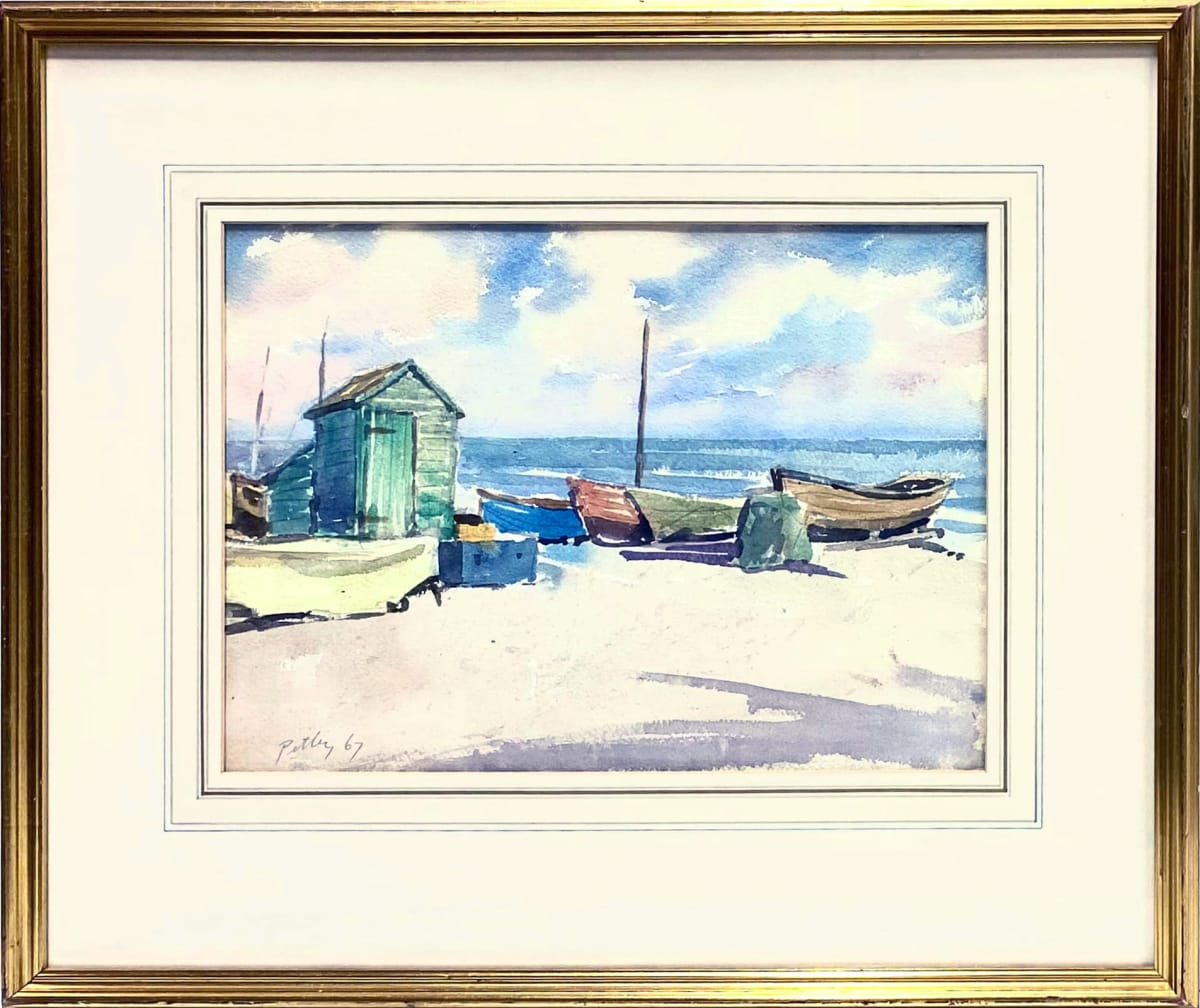 2425 - Boats at Eastbourne by Llewellyn Petley-Jones (1908-1986)