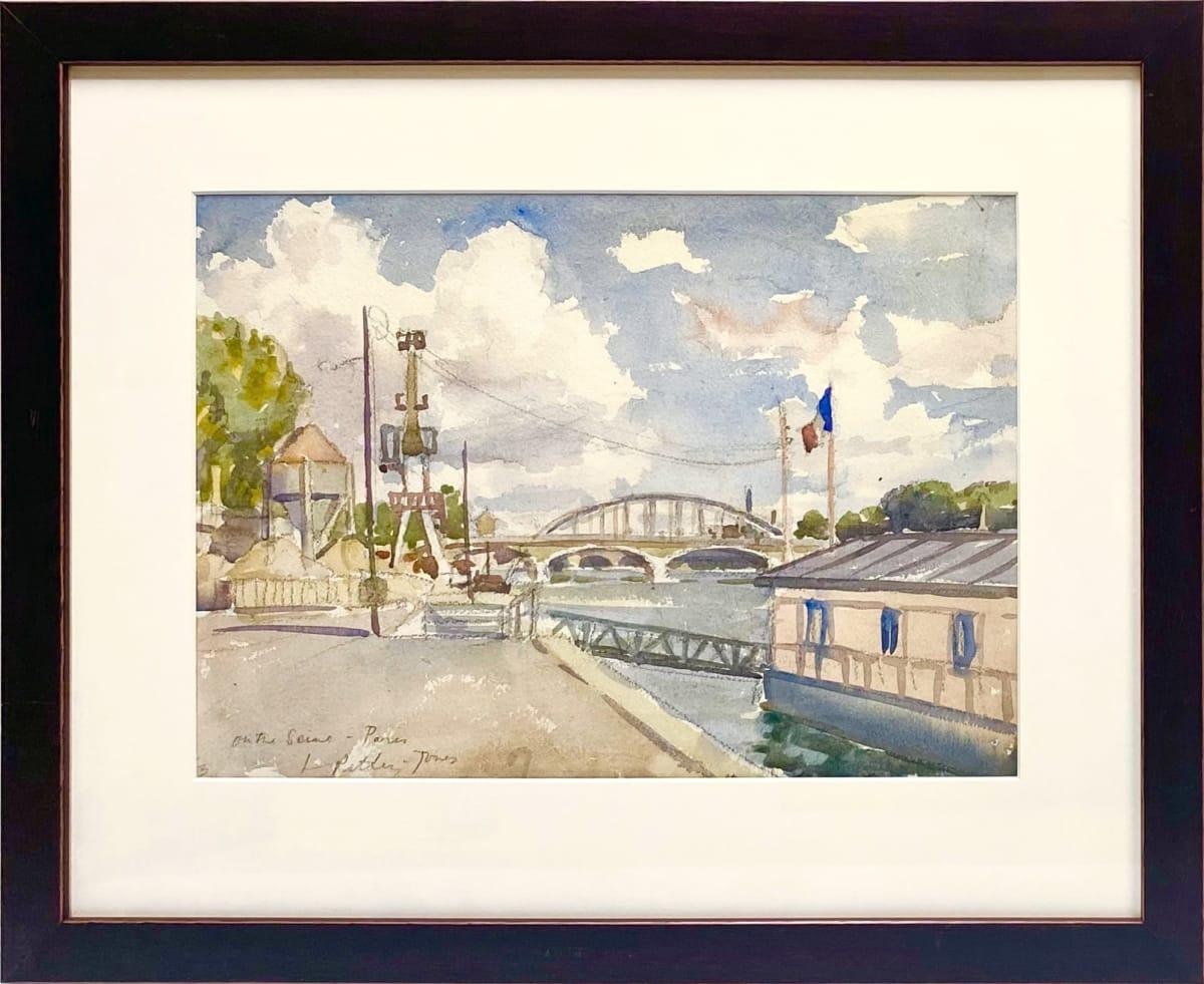 2514 - On the Seine Paris by Llewellyn Petley-Jones (1908-1986)