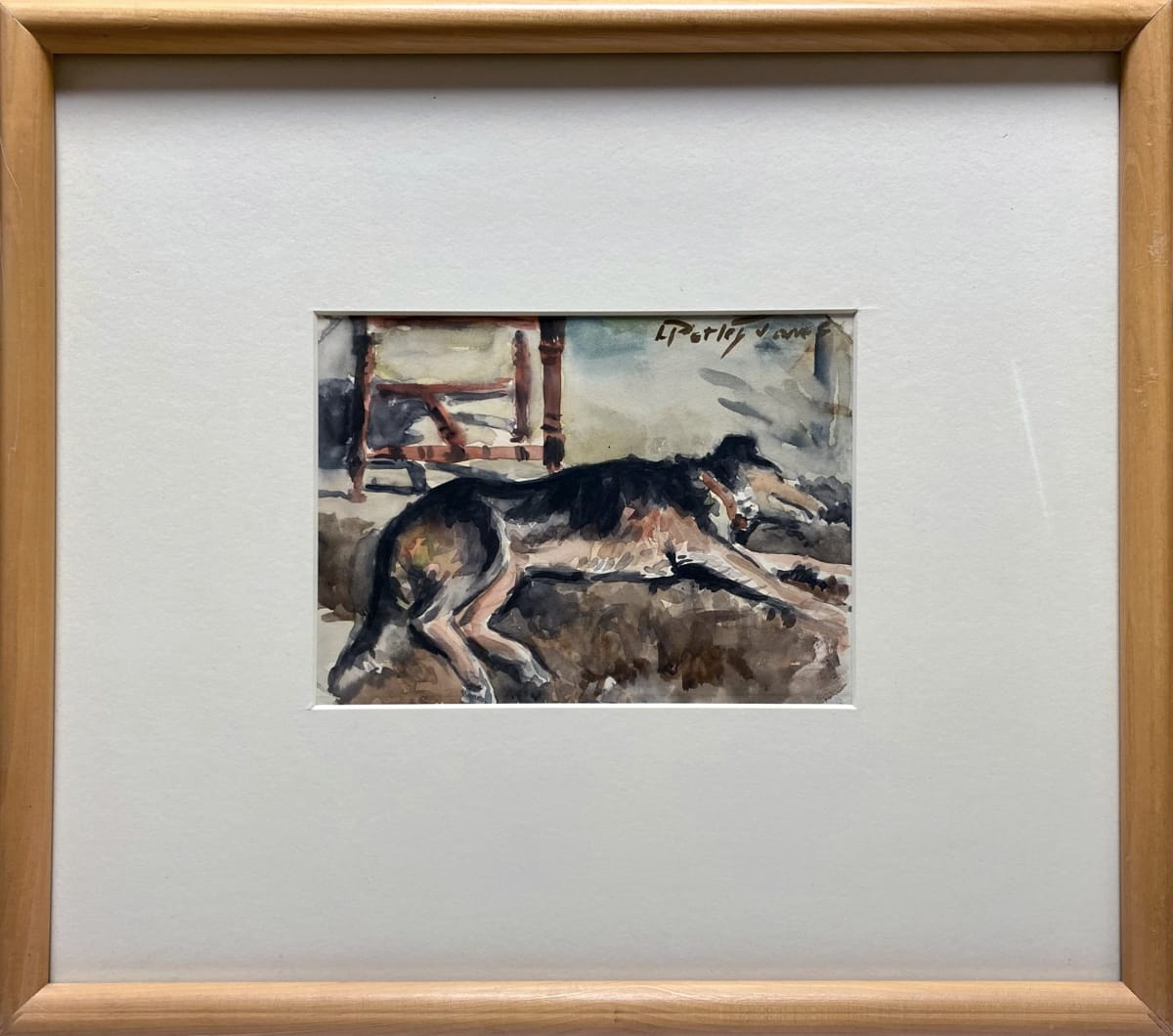 2786 - Our Dog by Llewellyn Petley-Jones (1908-1986)