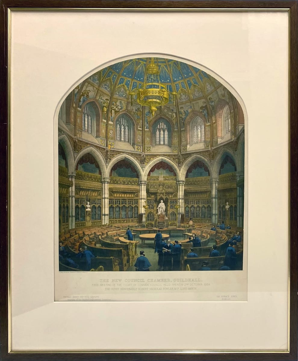 3257 New Council Chamber, Guildhall by C. F. Kell