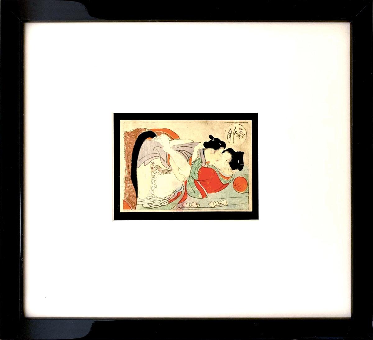 3952 - Shunga -- Spring Pictures  #10 by Meiji Era 1868-1912