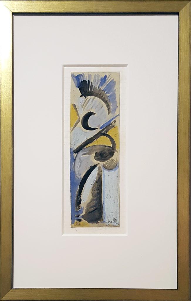 2413 - Futurist Composition by Domenico Belli (1909-1983)