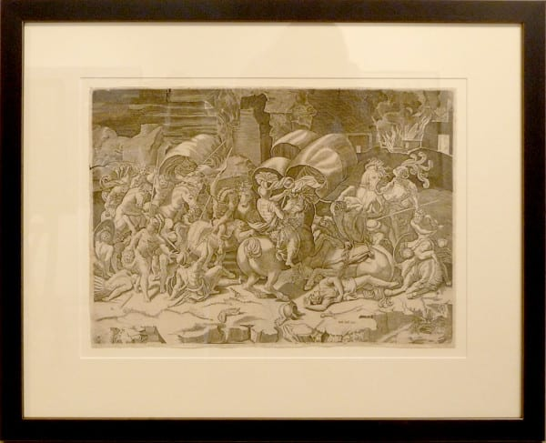 2738 - Battle of the Sabre (with a Cutlass) by Antonio (printed by) Salamanca