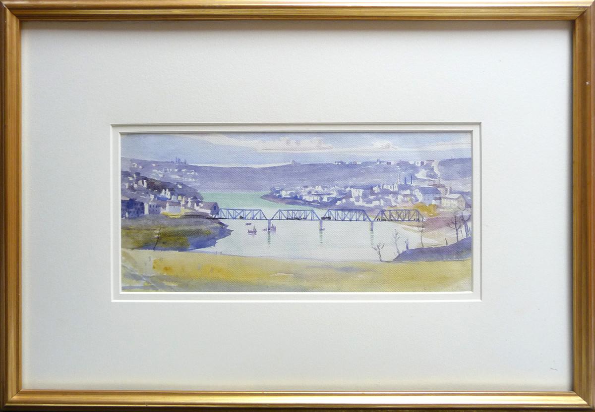 2324 - Edmonton River Valley by Llewellyn Petley-Jones (1908-1986)