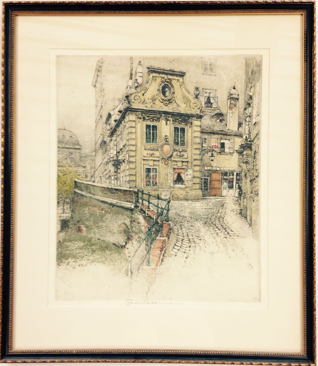 2448 - Antique Buildings by Robert Kasimir (1914-2002)