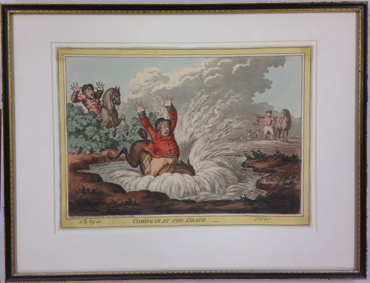 2070 - Coming in at the Death by James Gillray