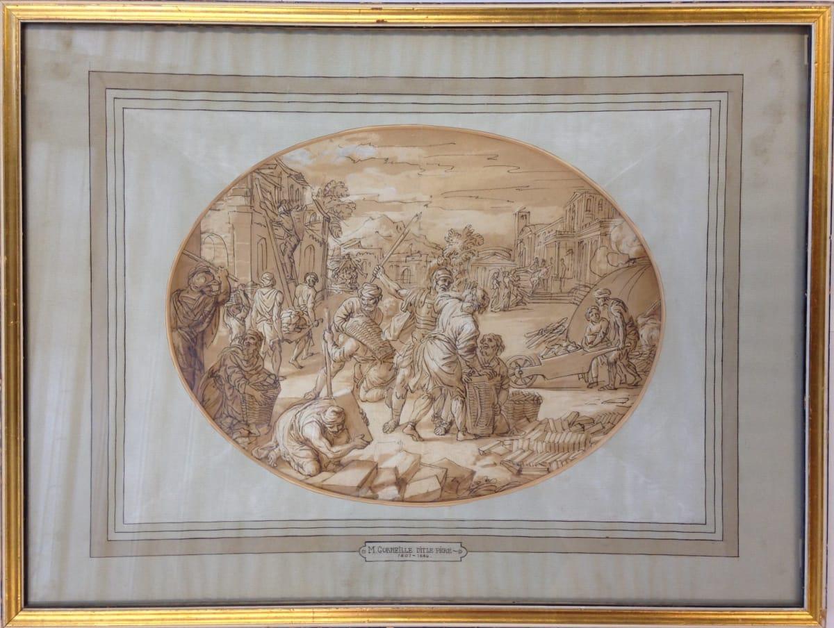 2642 - Dit le Père by Michel  Corneille (The Elder) (1601 - 1664)