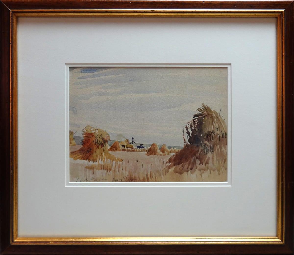 2994 - Haystacks by Llewellyn Petley-Jones (1908-1986)
