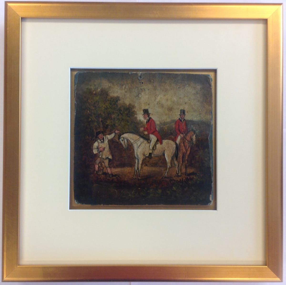 2612 - Lane Riders by Stephen Jenner (1794 - 1881) Grand-Nephew of Dr. Edward Jenner