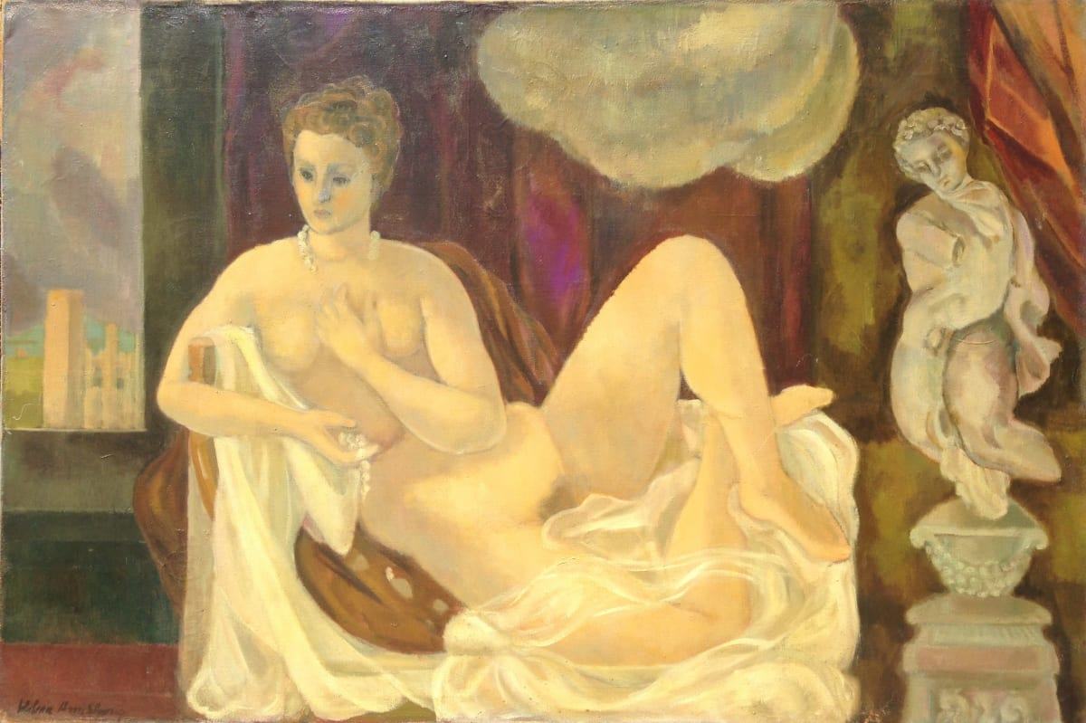 0925 - Nude Repose by Unknown
