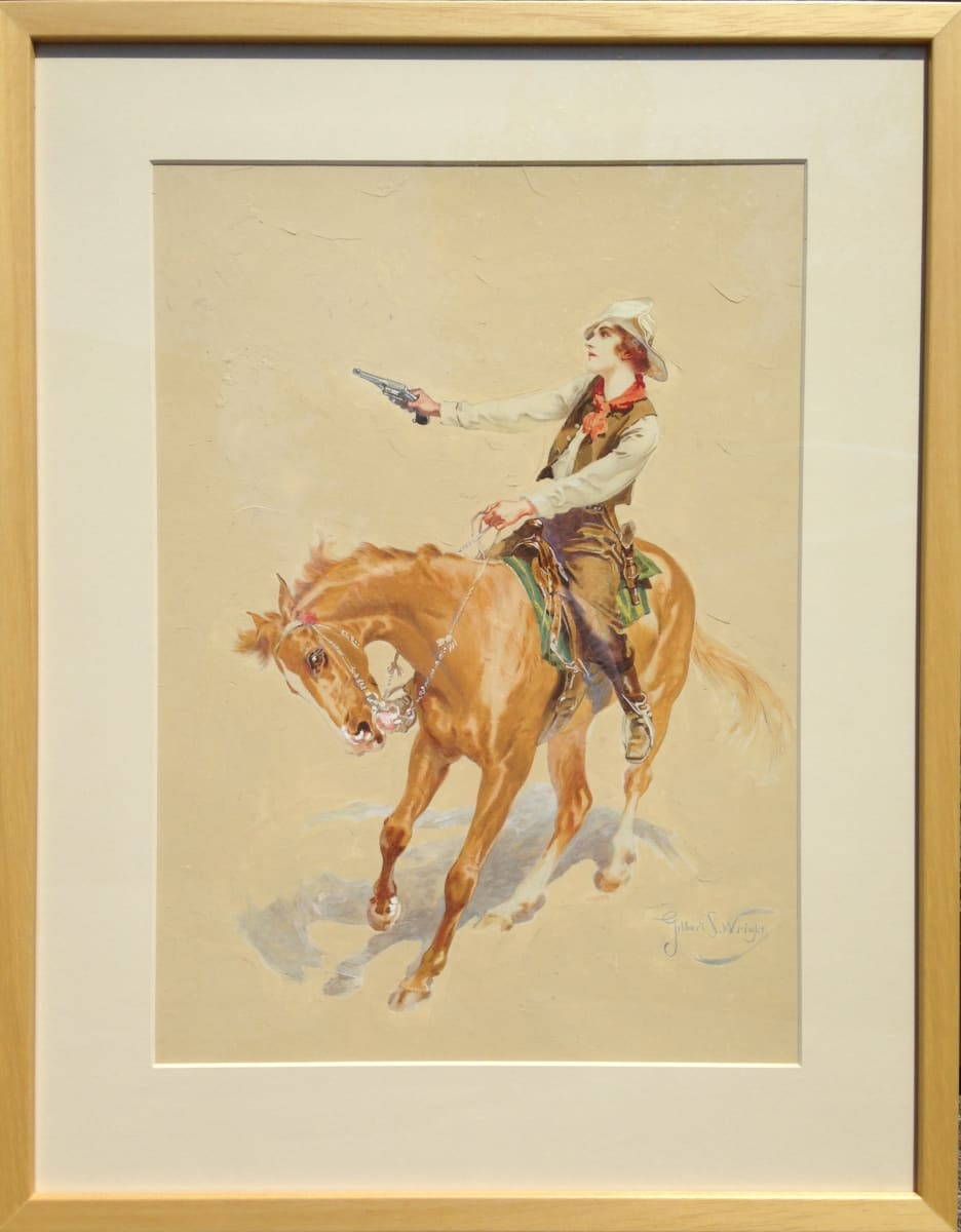 2703 - Lady Cowboy by Gilbert Portanier ( 1926 - present)