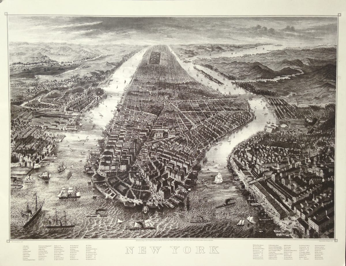 2714 - New York Topography by Unknown