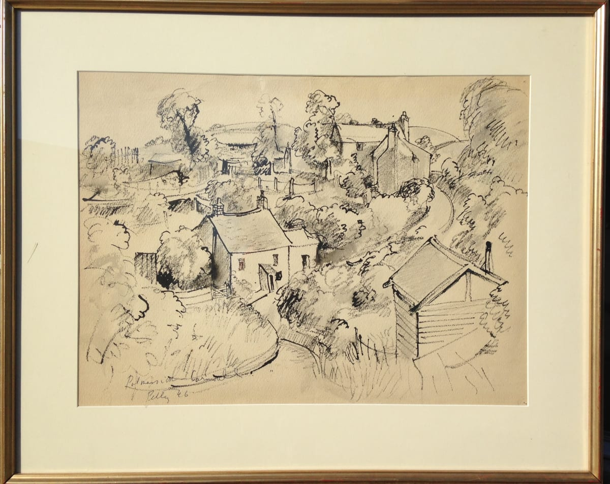 2759 - Polmaison Cornwall by Llewellyn Petley-Jones (1908-1986)