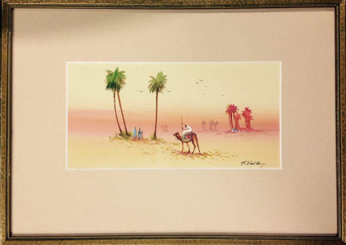 2801 - Oasis In The Desert (At Dusk)