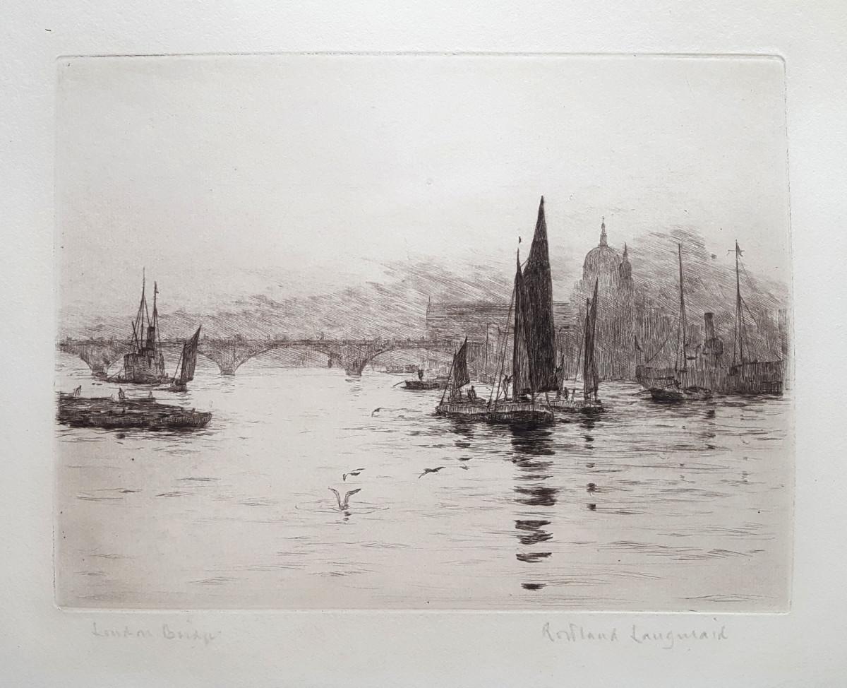 2933 - London Bridge by Rowland Laugmaid (1897-1956)