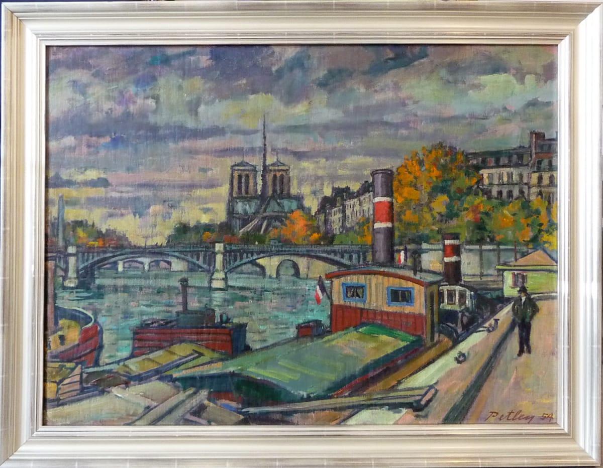 0206 - Autumn in Paris 54 by Llewellyn Petley-Jones (1908-1986)