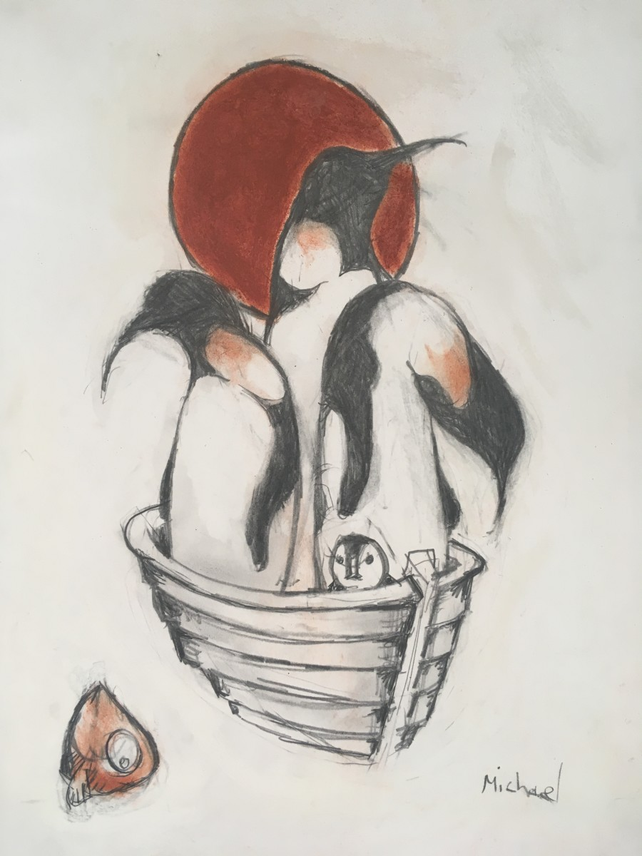 2586 - Fish Hunters by Michael Hermesh
