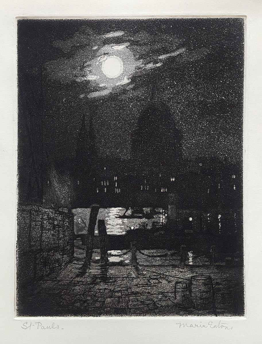 2925 - St Pauls by Maria Hampshire Eaton (c1860-c1940)