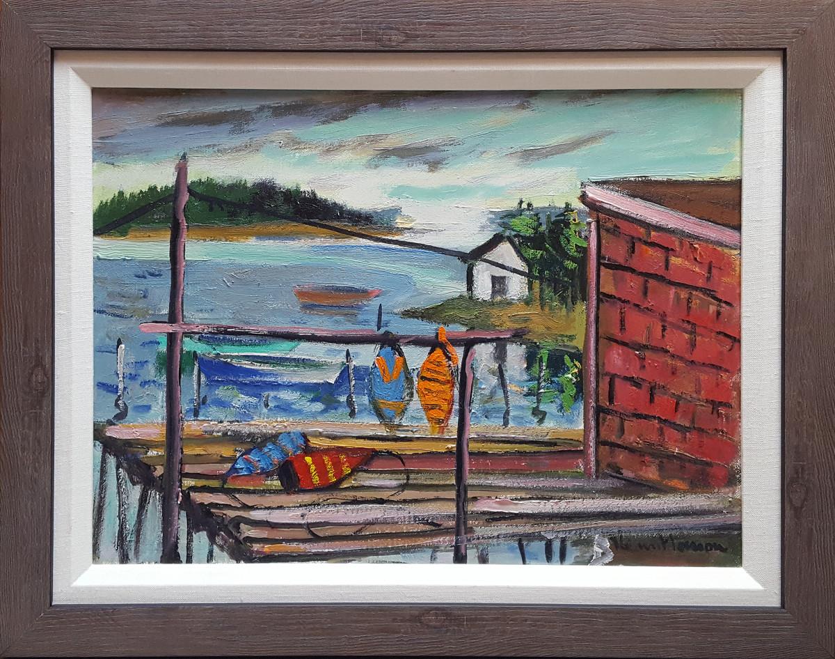 0811 - Nova Scotia Mood by Henri Leopold Masson (1907-1966)