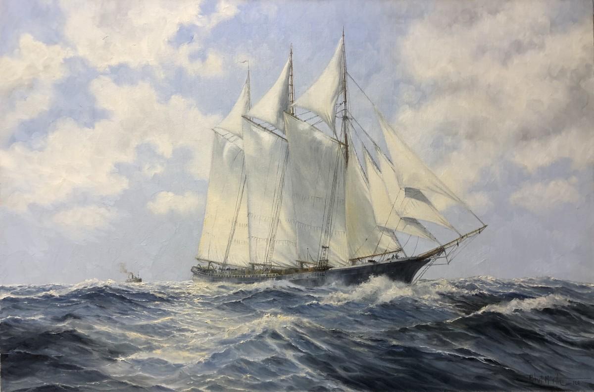 0664 - Full Sail by Robert McVittie (1935 - 2002)