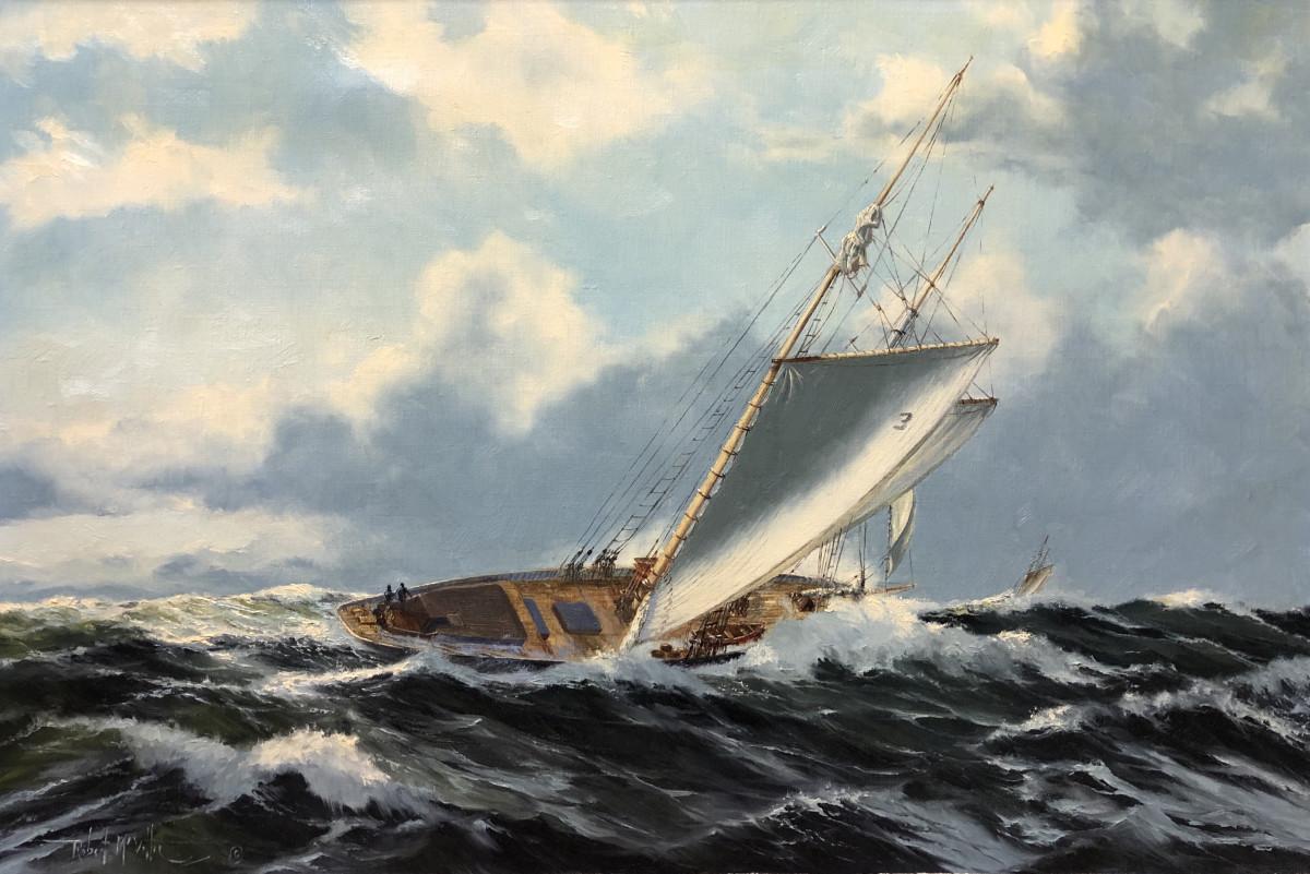 0665 - Full Tilt by Robert McVittie (1935 - 2002)
