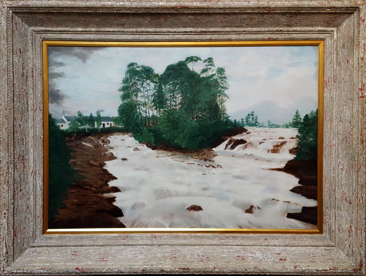 0624 - On the Dochart by David Milne (1882-1953)