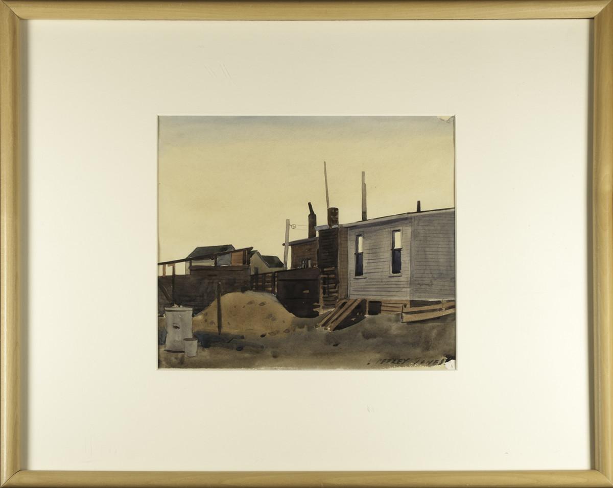 3081 - Old Houses, Edmonton, October 2nd by Llewellyn Petley-Jones (1908-1986)