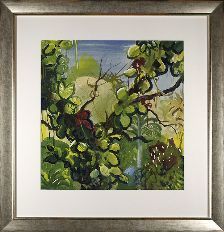 2962 - Dominican Vegetation by Richard Ciccimarra (1924-1973)