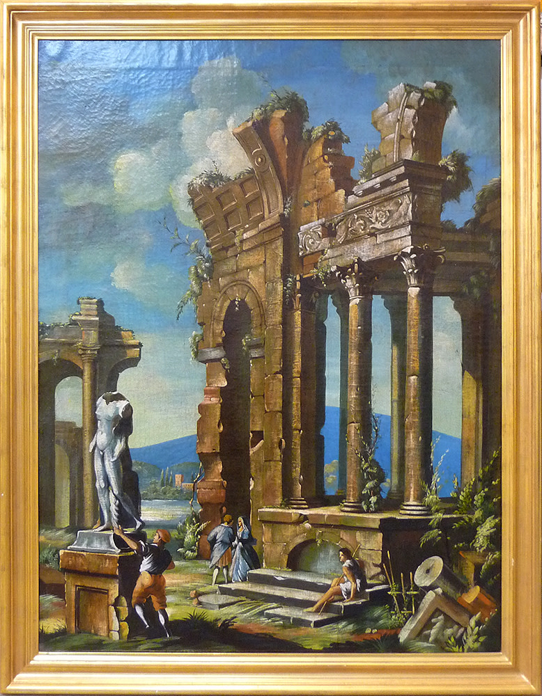 0103 - Italian Ruins by Unknown