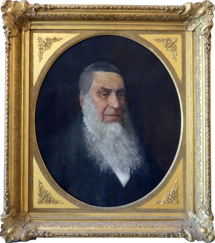 0137 - Portrait of a Man with Grey Beard by Unknown