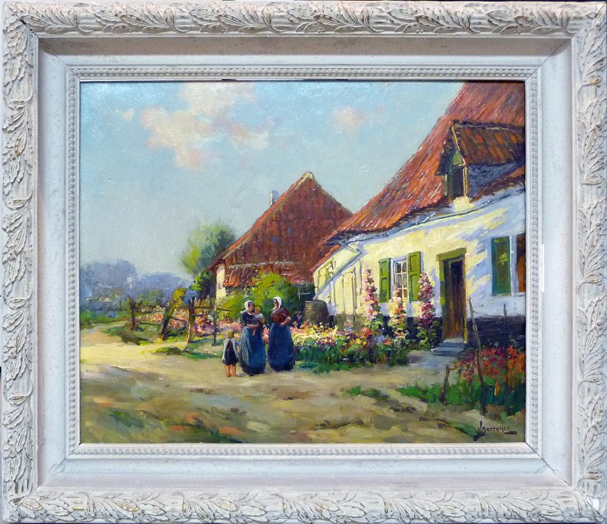 0015 - Maison de Frecheure by Willem Battaille (1867-1933)