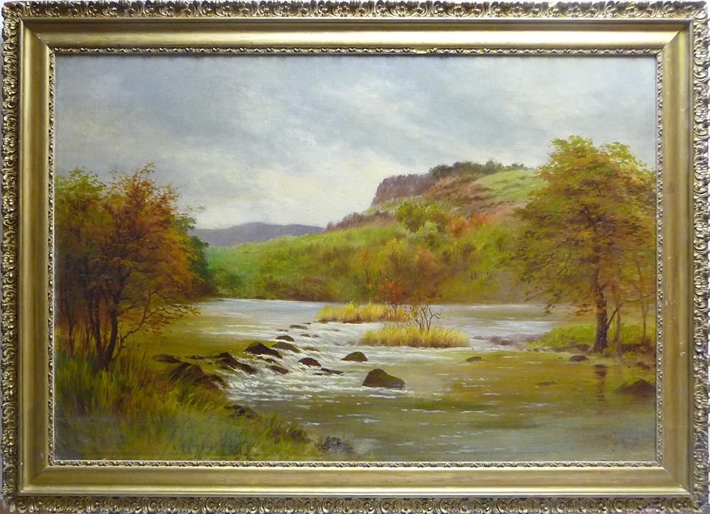 0065 - Landscape, autumn colours by Unknown