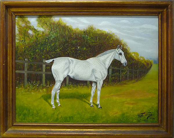 0009 - White Horse by H Armstrong