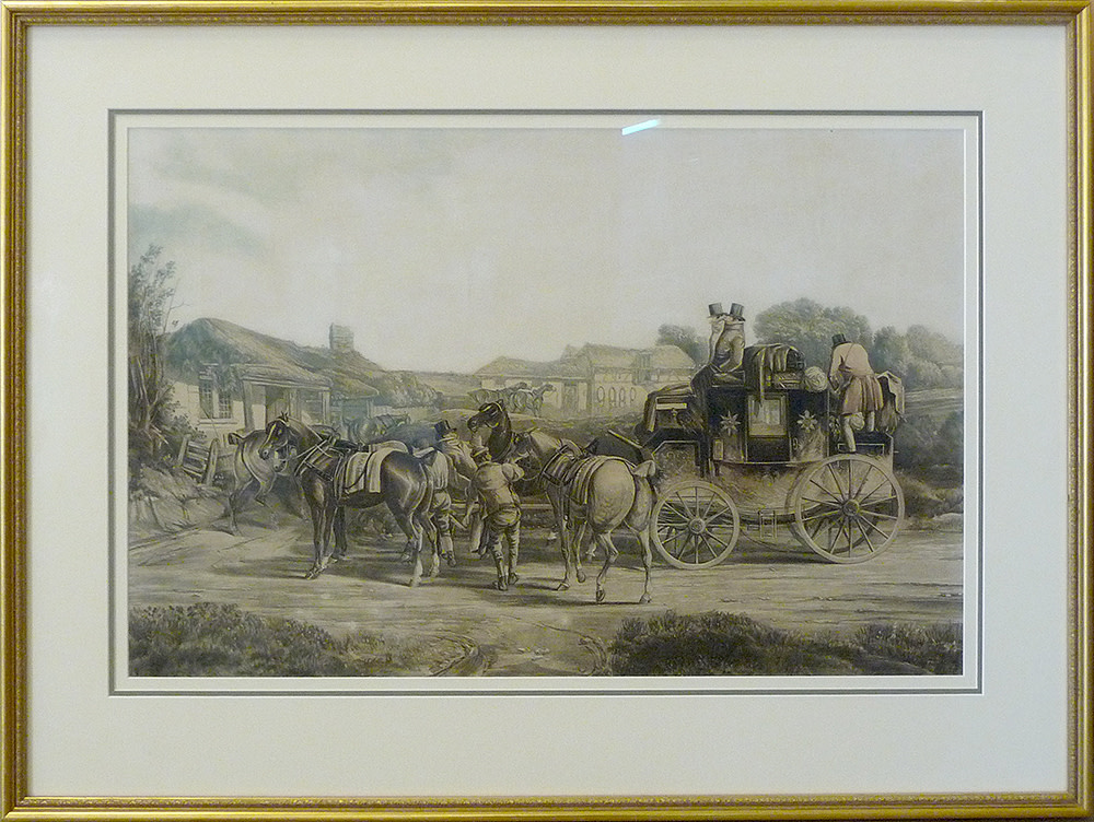 2016 - Changing Horses by J.(engraved by) Harris