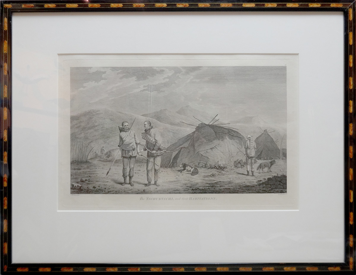 2067 - The Tschuktschi, and their habitations by Daniel Lerpiniere (1745?–1785)
