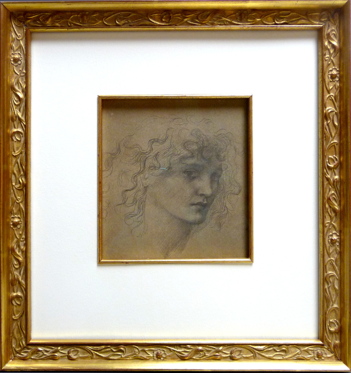 2072 - After Edward Burne-Jones by Frederick Hollyer (1837- 1933)