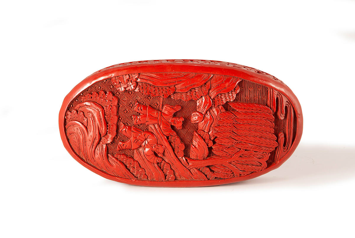 5016 - Red Carving