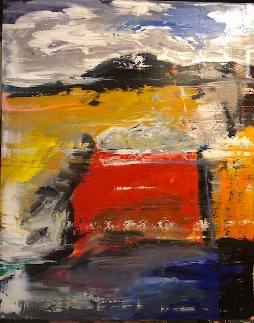 0597 - Red Section by Matt Petley-Jones
