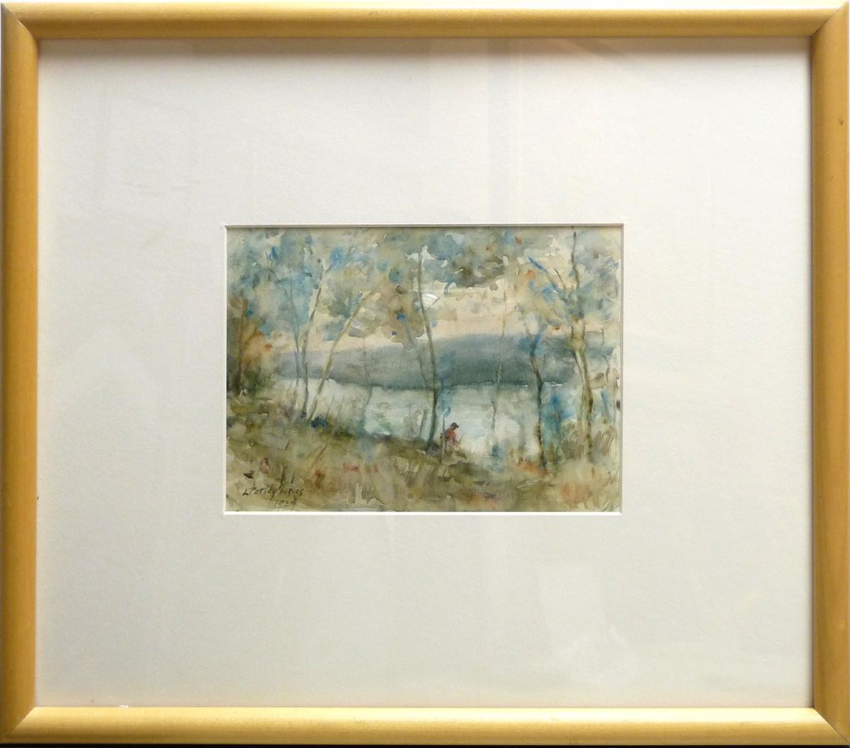 2348 - River Solitude by Llewellyn Petley-Jones (1908-1986)
