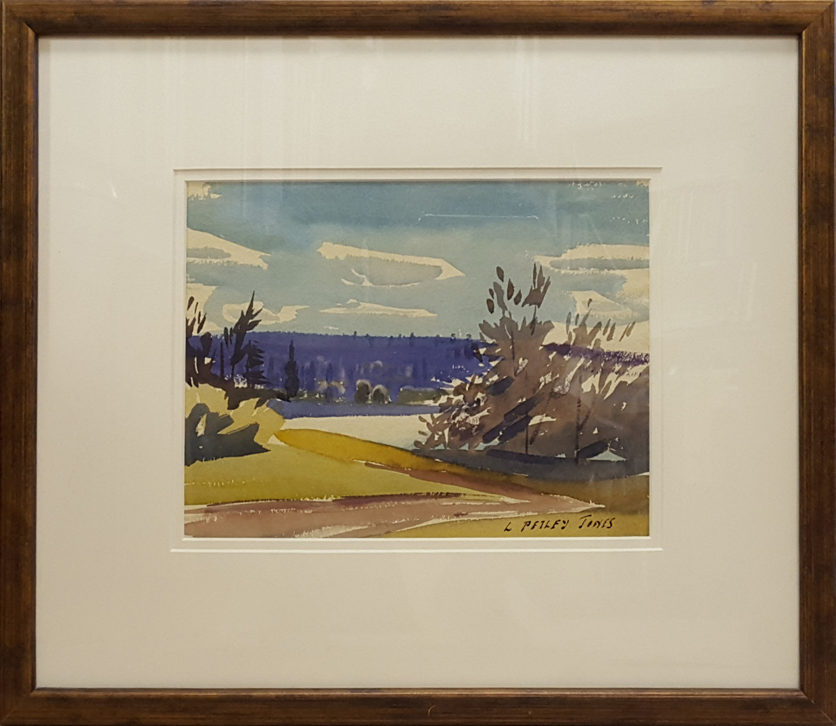2349 - Road by the Mcleod River August 22 1932, Alberta by Llewellyn Petley-Jones (1908-1986)