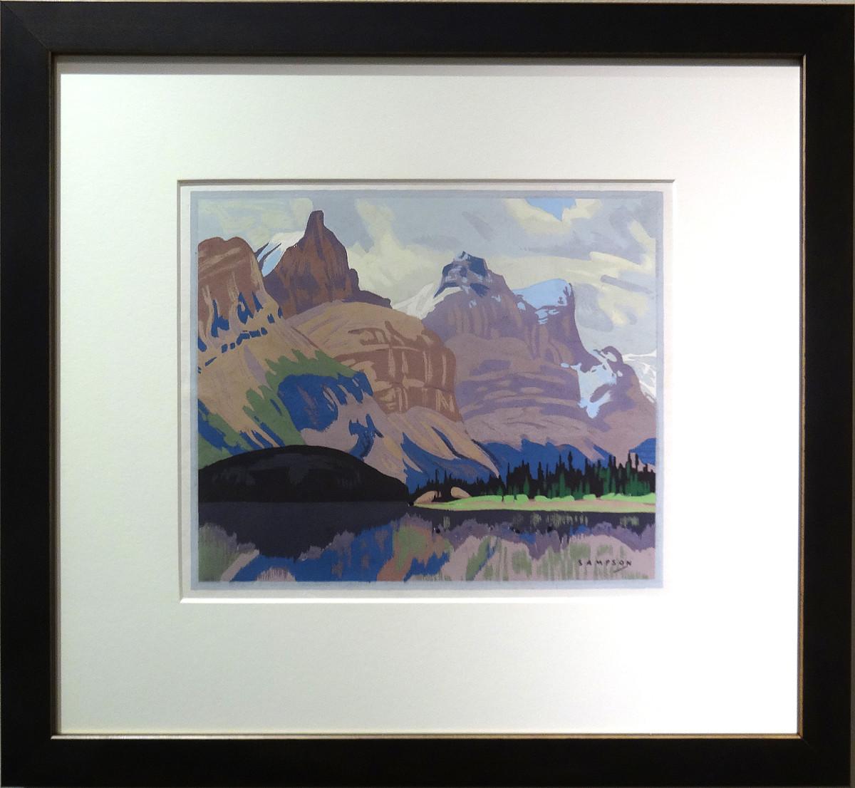 2543 - Untitled by Joseph Ernest Sampson (1887-1946)