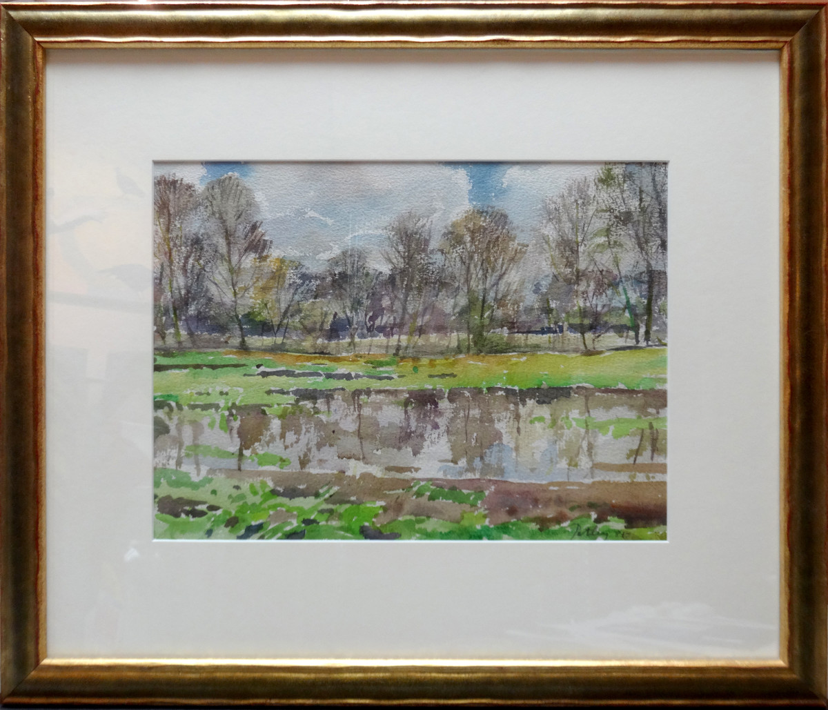 2398 - The Lake in Spring by Llewellyn Petley-Jones (1908-1986)
