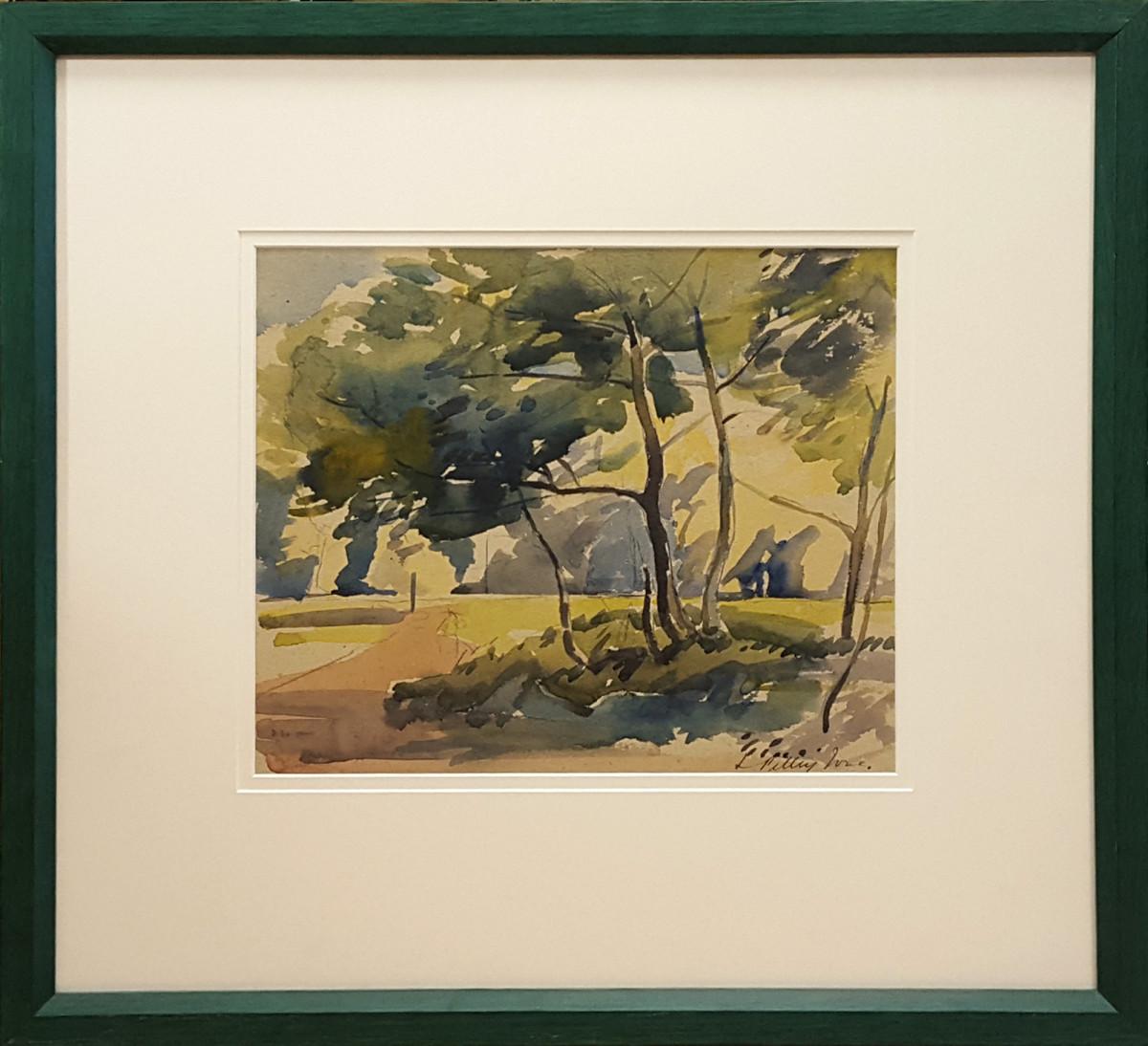 2368 - Trees and Shadows by Llewellyn Petley-Jones (1908-1986)