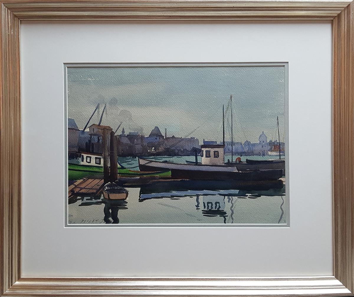 2389 - Victoria Harbour 1933 by Llewellyn Petley-Jones (1908-1986)