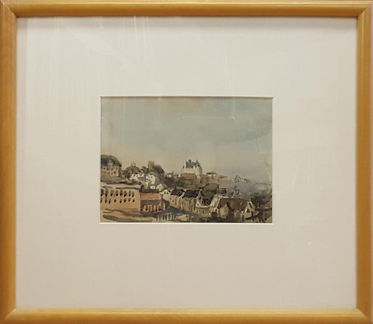 2375 - View from the Parliament, Edmonton by Llewellyn Petley-Jones (1908-1986)