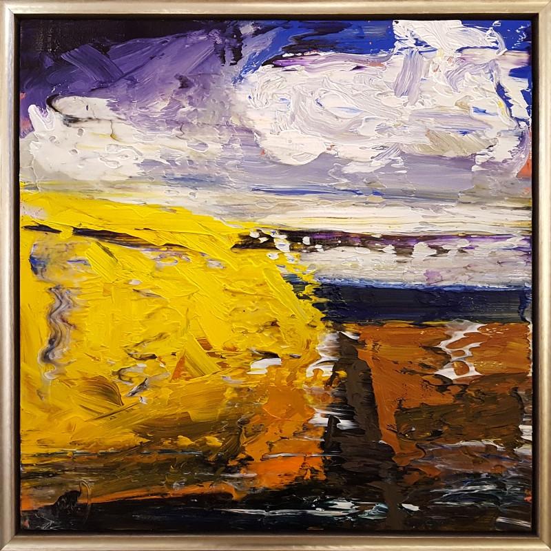 0581 - Yellow Slope by Matt Petley-Jones